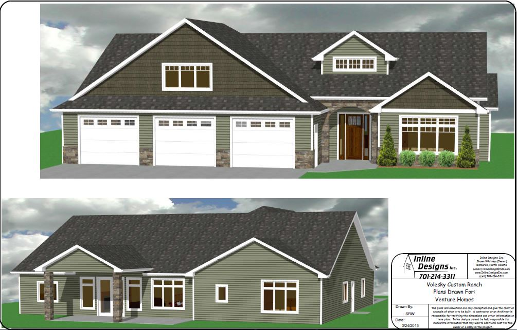 Cowboy 2858 Total SF Venture Homes – Venture Homes Floor Plans