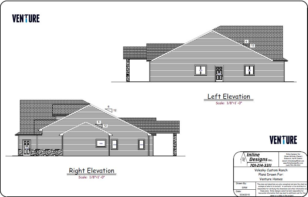 Right & Left Elevations